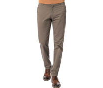 Hose Chino, Slim Fit, Baumwolle, khaki