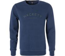 Sweatshirt, Classic Fit, Baumwolle, mittel