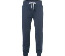 Hose Sweatpants, Modern Fit, Baumwolle, dunkel