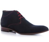Schuhe Desert Boots, Veloursleder, dunkel
