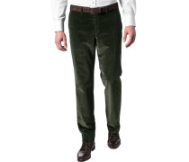 Cordhose, Contemporary Fit, Baumwoll-Stretch