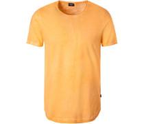 T-Shirt, Baumwolle, orange