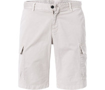 Hose Cargoshorts, Regular Fit, Baumwolle, hell