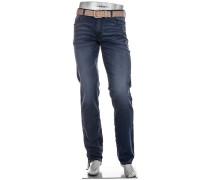 Cosy Jeans, Slim Fit, Baumwoll-Stretch 9oz, tinten