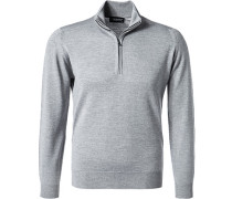 Pullover Troyer, Standard Fit, Merino Extrafine