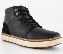Schuhe Sneakerboots, Leder wasserfest warmgefüttert