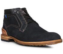 Schuhe Desert Boots, Veloursleder, dunekl