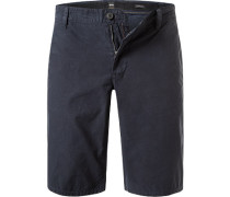 Hose Bermudashorts, Regular Fit, Baumwolle, navy