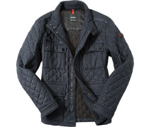 Steppjacke, Microfaser Thermore®, tiefsee meliert