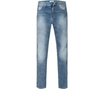 Jeans, Regular Slim Fit, Baumwolle, jeans