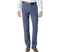 Chino, Regular Cut, Baumwolle, jeans