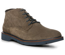 Schuhe Desert Boots, Veloursleder, greige