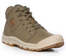 Schuhe Snürboots, Textil wasserdicht, khaki