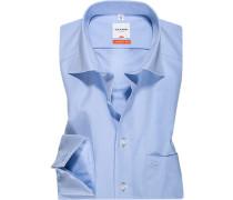 Hemd, Modern Fit, Chambray, bleu