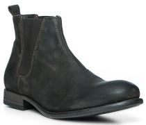 Schuhe Chelsea Boot, Nubukleder, dunkel