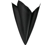 Accessoires Einstecktuch, Seide, schwarz gepunktet