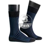 Serie Shadow, Socken, Baumwolle,  gestreift
