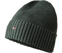 Mütze, Baumwolle-Kaschmir, dunkel
