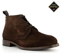 Schuhe Desert Boots, Veloursleder GORE-TEX, dunkel