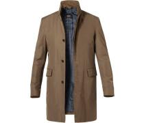 Mantel, Baumwolle wasserabweisend, grau