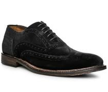 Schuhe Oxford, Samt