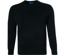 Pullover, Reines Kaschmir, schwarz