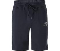 Hose Sweatshorts, Baumwolle, navy