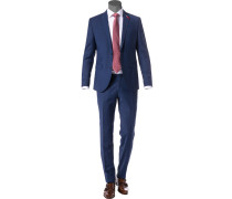 Anzug, Slim Fit, Woll-Stretch