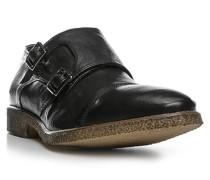 Schuhe Doppelmonkstraps, Glattleder