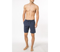 Schlafanzug Shorts, Micromodal, navy