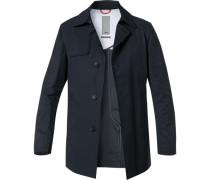 Mantel, Baumwolle wasserabweisend, marine