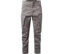 Cargohose, Tapered Fit, Baumwolle