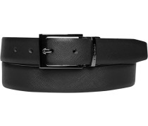 Gürtel Wendegürtel, nacht schwarz, Breite ca. 3 cm