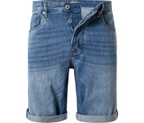 Jeansshorts Callen, Relaxed Fit, Baumwoll-Stretch 12oz