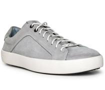 Schuhe Sneaker, Verloursleder, grau