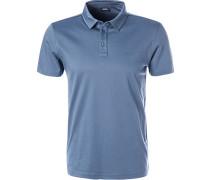 Polo-Shirt, Modern Fit, Baumwoll-Jersey, jeans