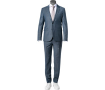 Anzug Astian-Hets, Extra Slim Fit, Schurwolle