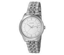 Uhren Armbanduhr, Edelstahl, silberfarben