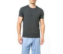 T-Shirt, Micromodal, anthrazit meliert