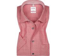 Hemd, Comfort Fit, Baumwolle,  gemustert
