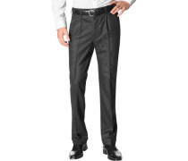 Hose Milano-U, Classic Fit, Flanell