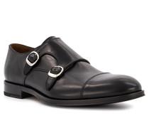 Schuhe Doppelmonkstrap, Leder