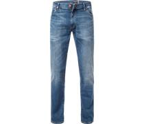 Jeans Larston, Slim Fit, Baumwoll-Stretch