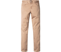 Jeans, Slim Fit, Baumwoll-Stretch, hell