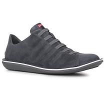 Schuhe Sneaker, Nubukleder, anthrazit