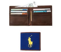 Geldbörse, Leder-Textil, capri