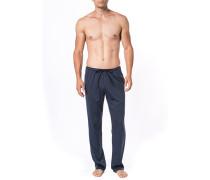 Schlafanzug Pyjamapants, Baumwolle,  meliert