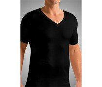 T-Shirt, Slim Fit, Mako-Baumwolle