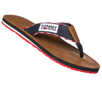 Schuhe Zehensandale, Textil