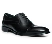 Schuhe Oxford Largo, Kalbleder, schwarz